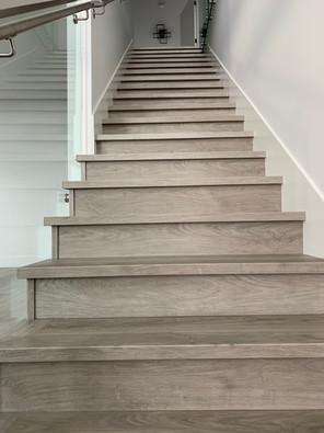 SPC vinyl stair nosing