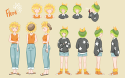 Flore Character Design