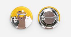 We Bare Bear Badges