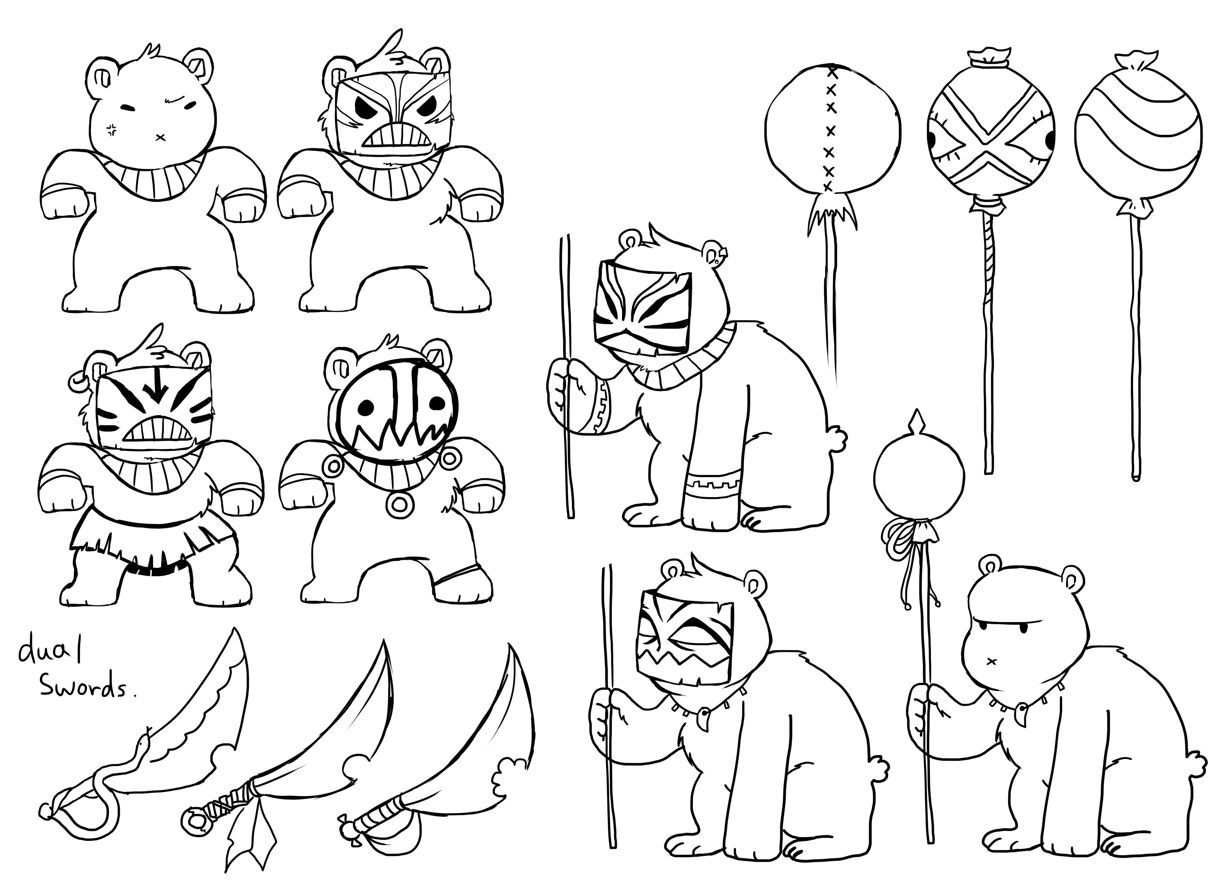 Bear Guard designs