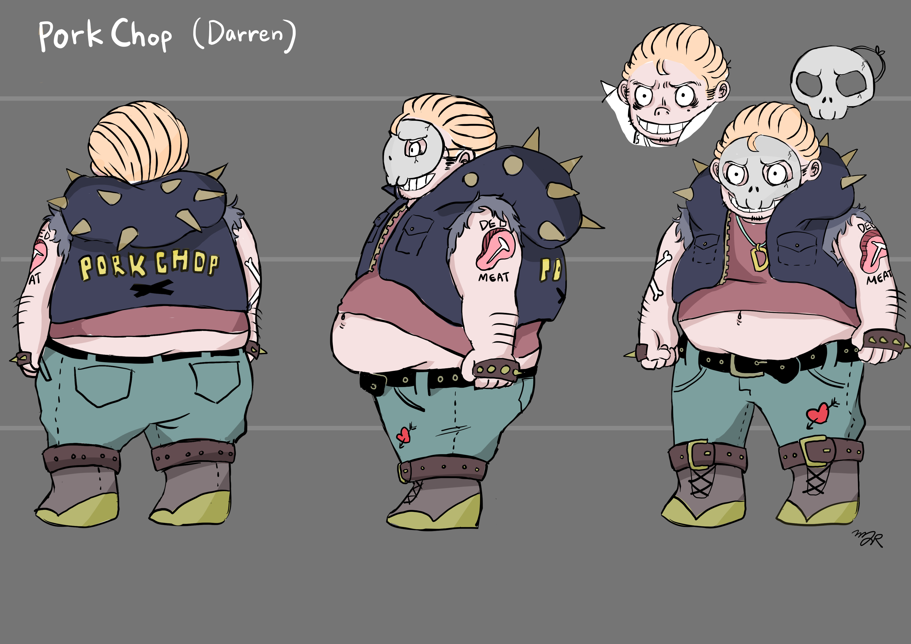 Misc Villain 1 Pork Chop