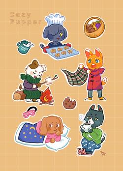 Original Sticker Sheet
