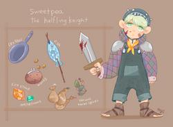 Sweet Pea Character Design