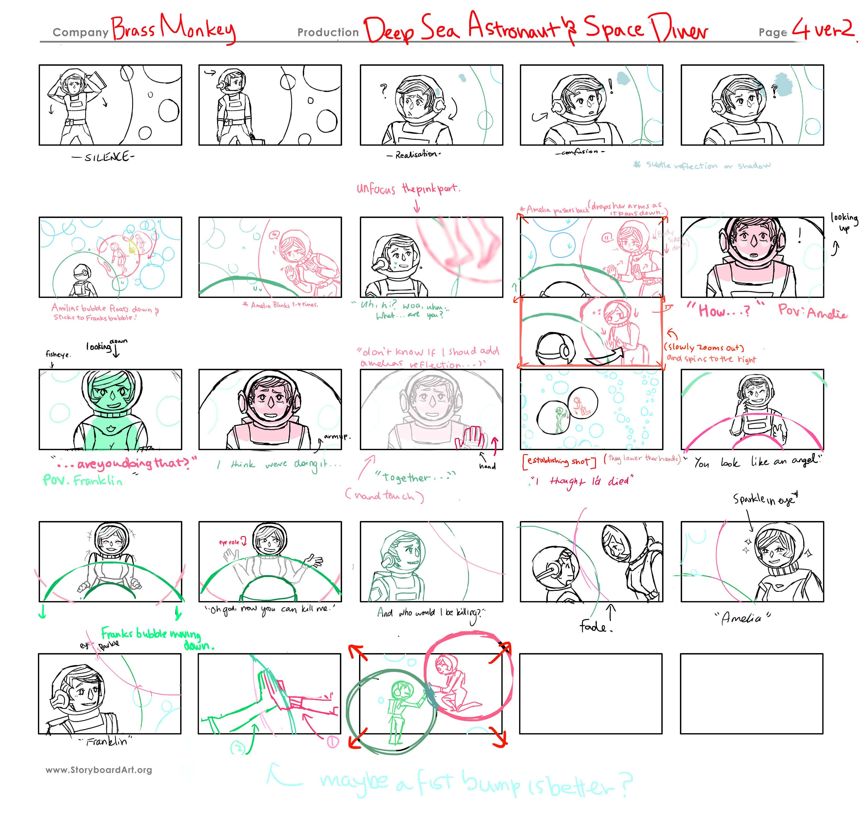 Storyboard page 4