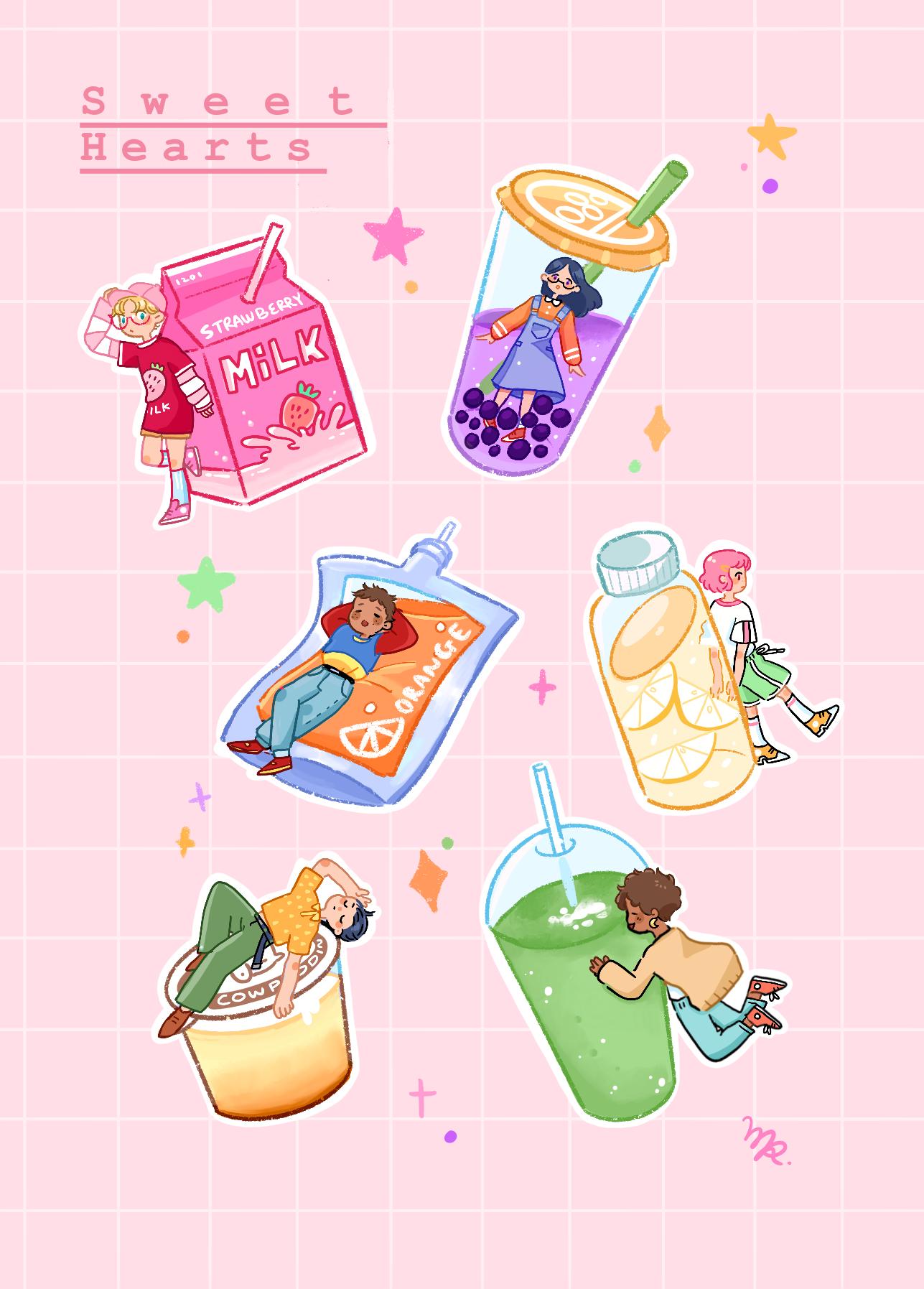 Sweetheart Sticker Sheet