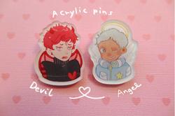 Original Acrylic pins