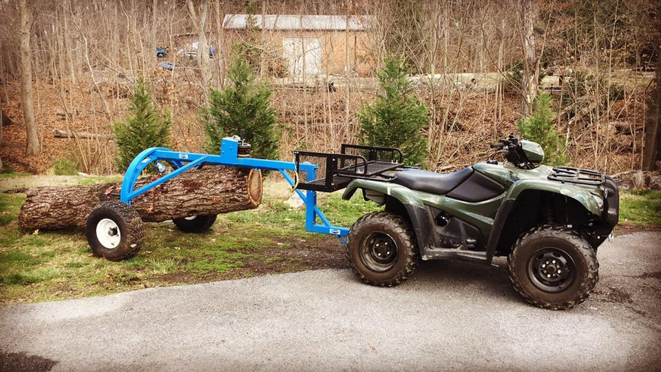Using A Log Rite ATV Arch