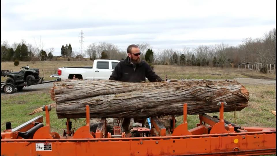 Large Eastern Red Cedar Timber