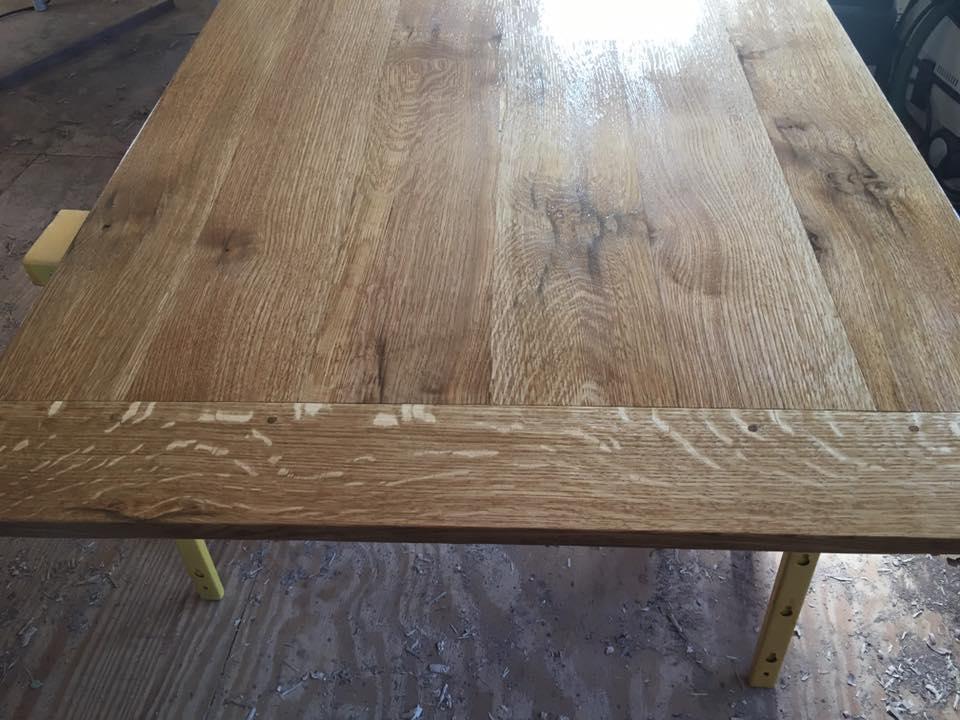 White Oak Farm Table