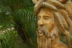 Jamaican rasta scultpture