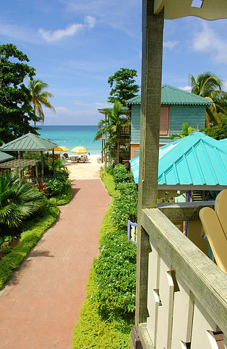 ocean view hotel room
