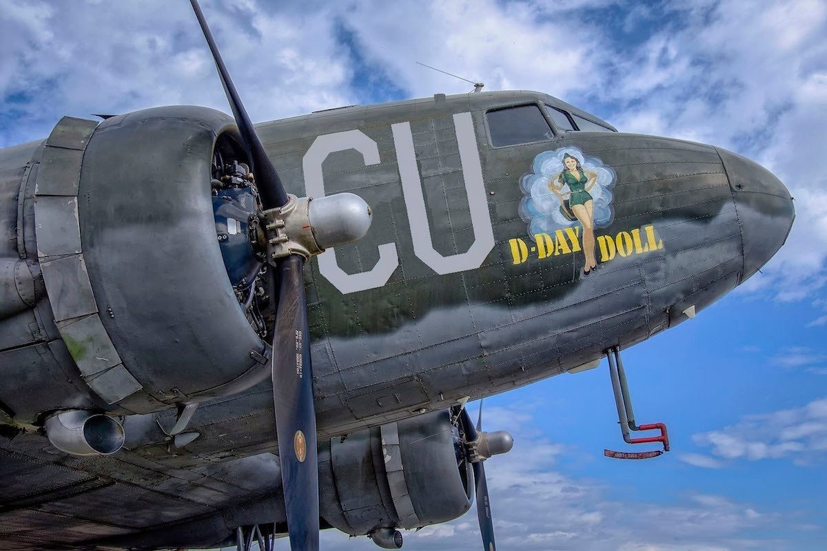 """C-53 """"D-Day Doll"""""""