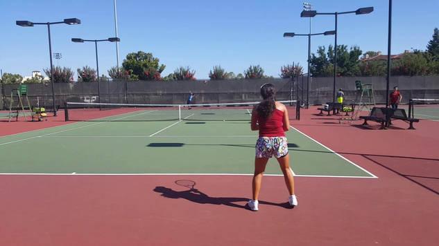 Practicing Serve Return and Baseline Game