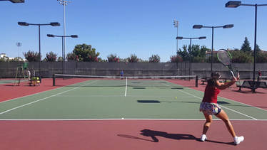 Practicing Serve and Baseline Game
