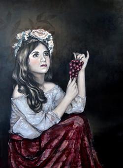 The Bride of Dionysus, Emily Blom,2018