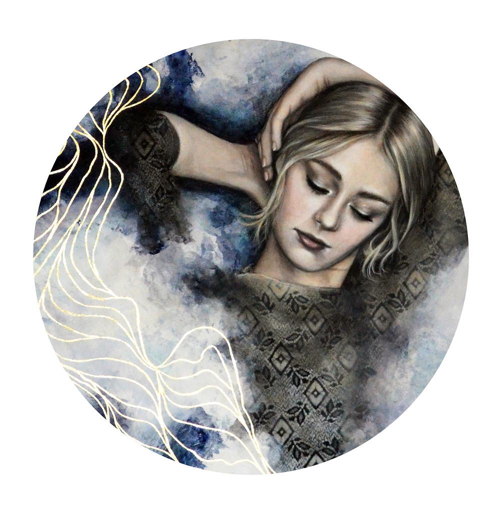 Emily Blom, Emily Blom Art, Emily Blom Painting