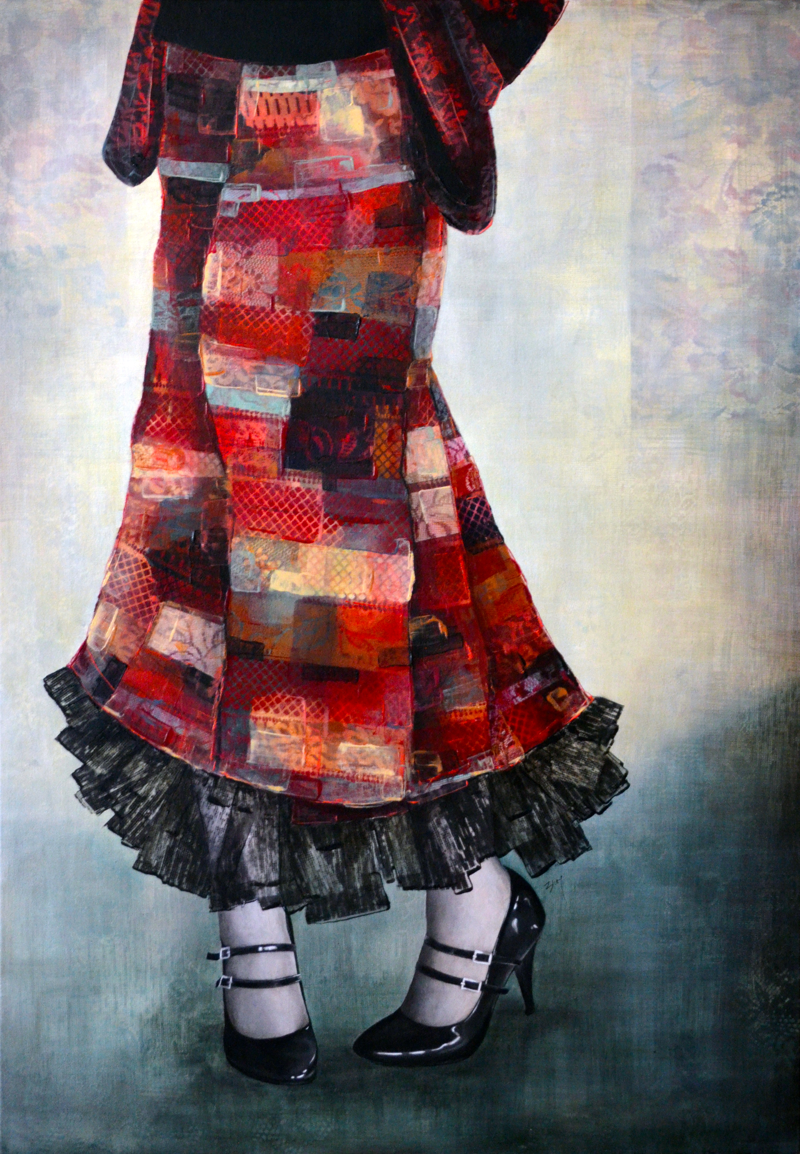 Emily Blom Painting