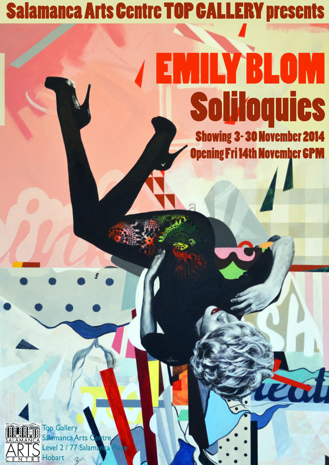 Soliloquies - Emily Blom Solo Exhibition Showing at the Salamanca Arts Centre