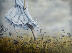 Running From the Wind, Emily Blom, 2015