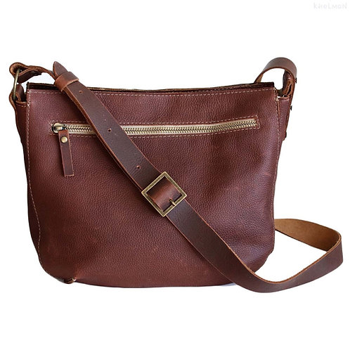 Marley S. Crossbody leather bag