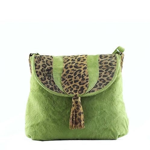Lani natural leather satchel bag