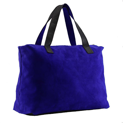 Ashby suede leather tote by Khelman
