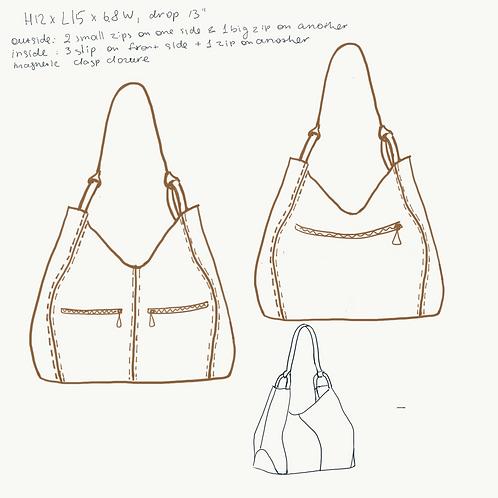 Custom tote bag for Pamela