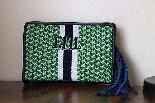 Custom needlepoint purse