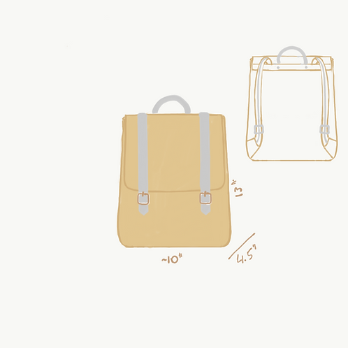 Custom Backpack and Wallet