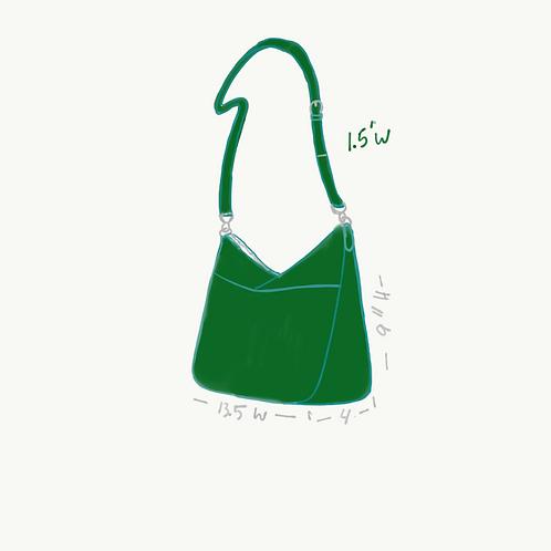 Kelly Green bag for April