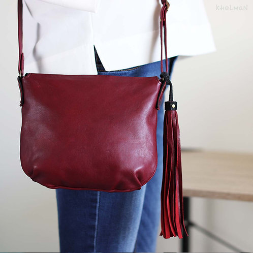 The bag has soft and elegant shape.