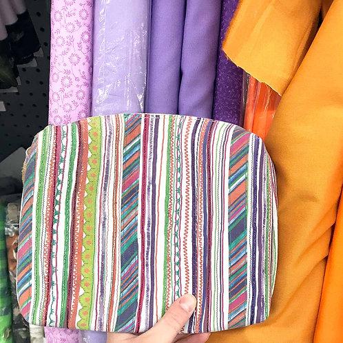 8. Fancy stripes purse