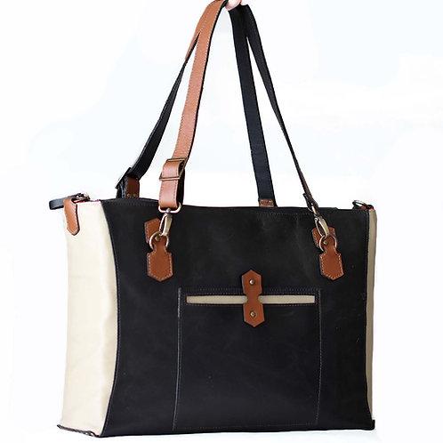 Gideon camera tote bag with padding interior