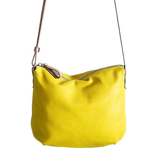 Borla. Sunny Yellow crossbody purse