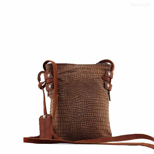 Suede cross body purse Bixby