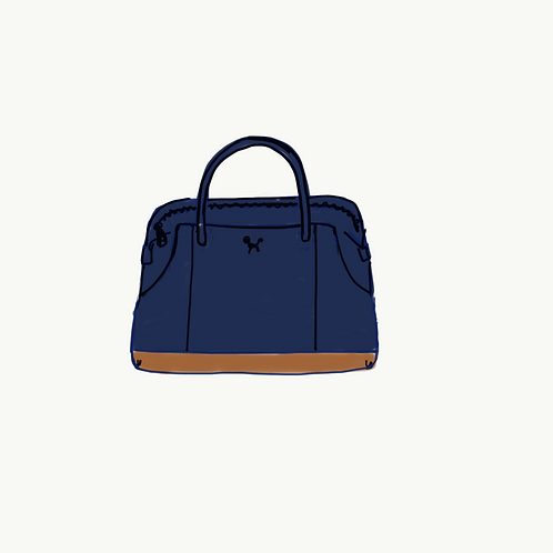 9. Navy Blue tote