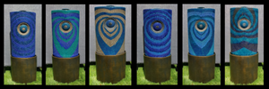 Currently Available Unique Water Features by Damien Jones Art