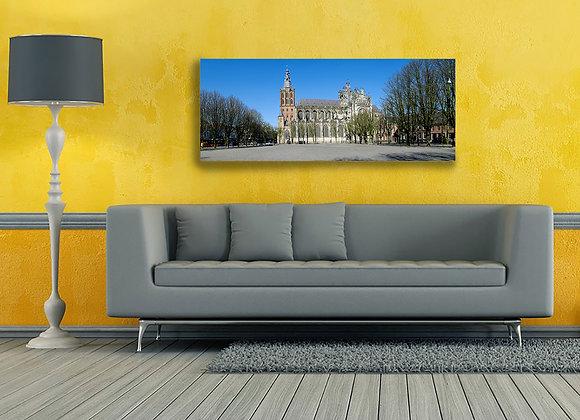 Foto op dibond van de Sint Jan in Den Bosch