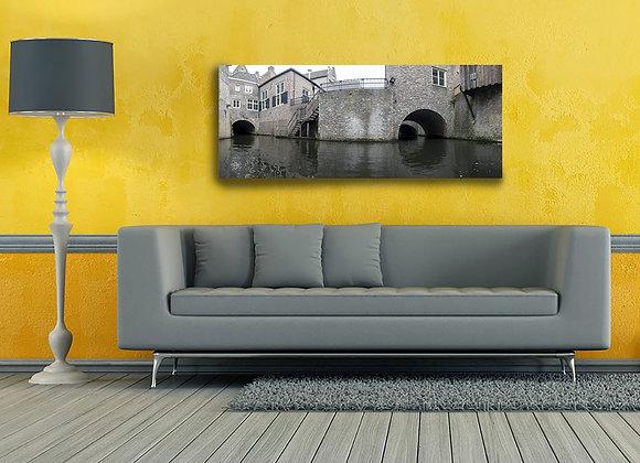 Foto op dibond van Binnendieze Den Bosch 'B'