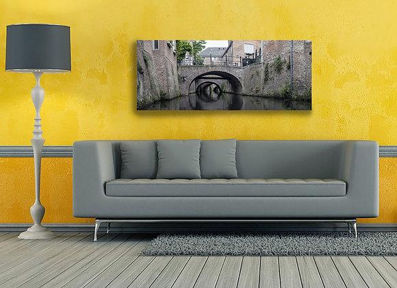 Foto op dibond van Binnendieze Den Bosch 'C'