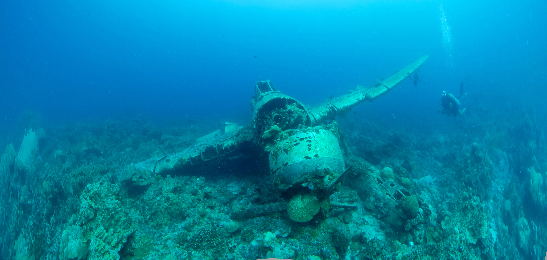 Japanese seaplane, Palau
