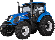 Trator H145 Azul LS Tractor