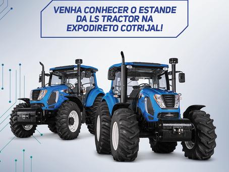 O estande do Consorcio Nacional LS Tractor na Expodireto Cotrijal espera você com planos incríveis.