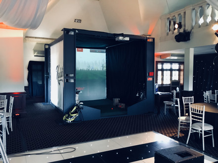 Golf Simulator Wedding Hire