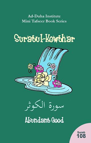 Mini Tafseer Book: Suratul-Kowthar