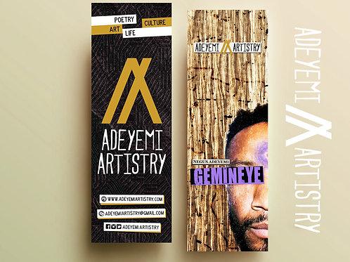 Adeyemi Artistry Bookmark