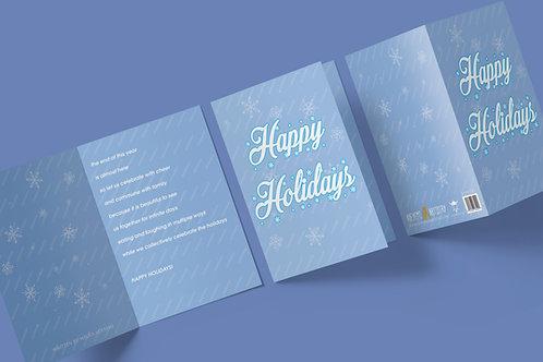 Happy Holidays (snow)