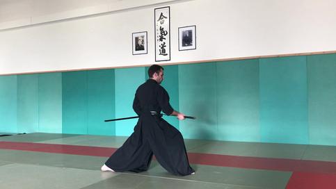 """Iaïdo par Christophe """"Ryuto"""" Muso Shinden"""