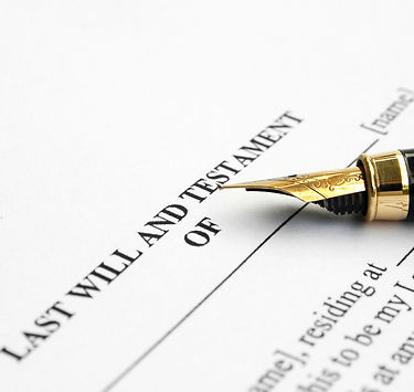 Notary Last Will & Testament