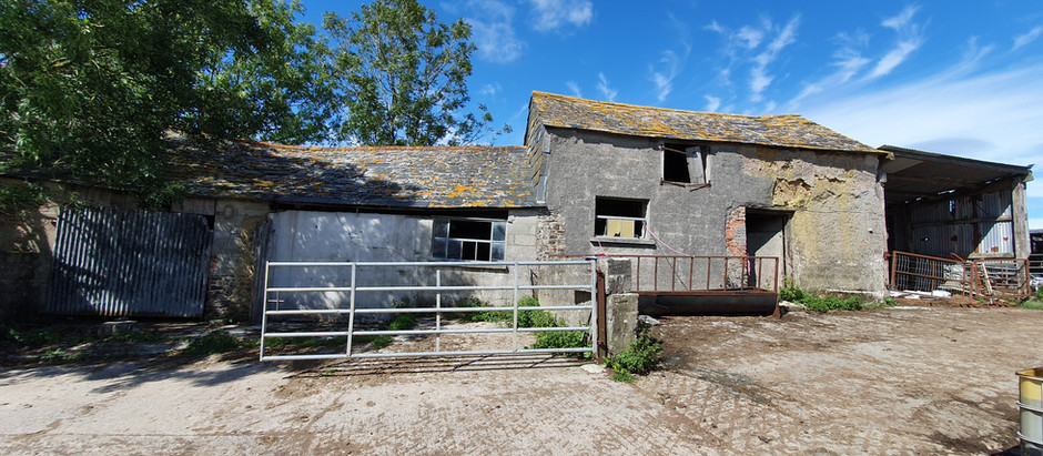 R.A Rowe obtain detailed planning consent for conversion of barns into residential dwellings